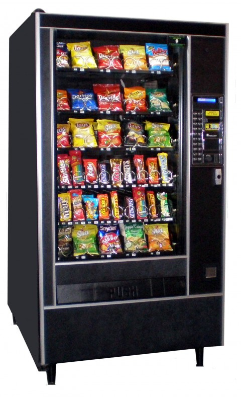 Automatic Products Model 113 Snack Machine