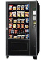 AMS 39-640 (Black Trim Less - Early Style - 1 Candy Shelf - Ambient) snack machine Sensit 2
