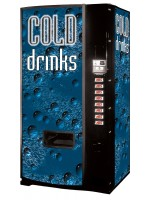 Dixie Narco Model 600E Cold Drink Can Vending Machine