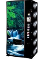 Dixie Narco Model 600E Waterfall Scene Can Vending Machine
