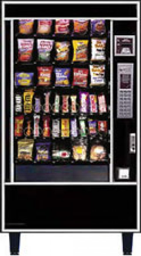 Automatic Products S4600UBV Vending Machine